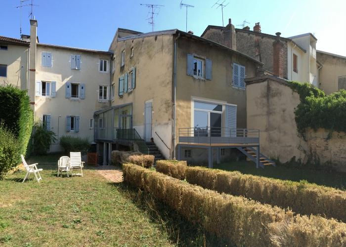 Réhabilitation d'un appartement avec terrasse
