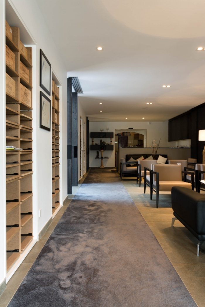 Hotel Restaurant Blanc : ATELIERALEXANDRECHATELARD - 9