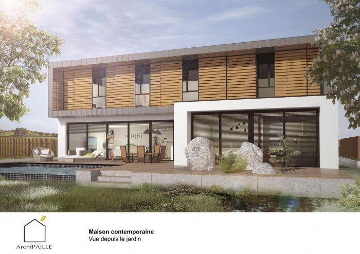 Maison contemporaine en paille : ArchiPAILLE 02.jpg