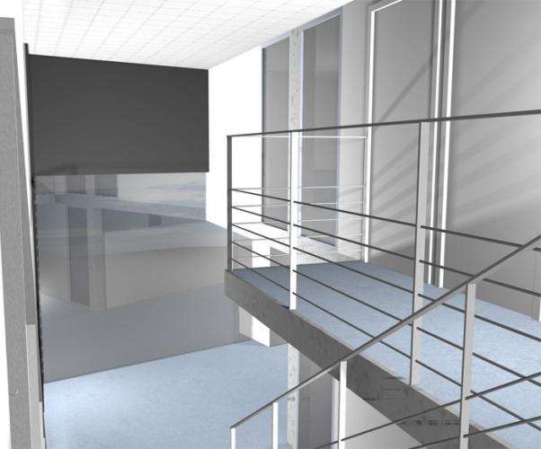 Bureaux à Lyon : vue haute