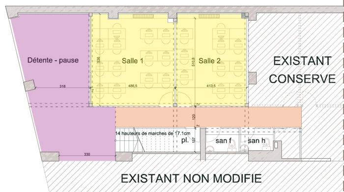 Bureaux à Lyon : rdc