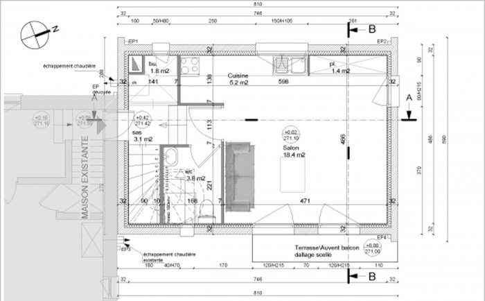 plan appartement hlm