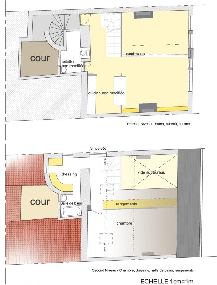 Rénovation d'appartement : plan