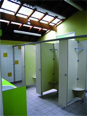Rénovation des sanitaires d'un camping