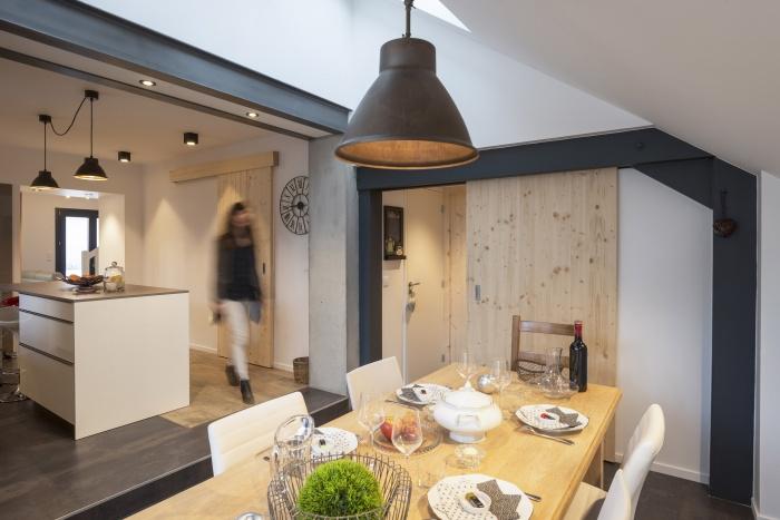 CrEx : Salle à manger et cuisine