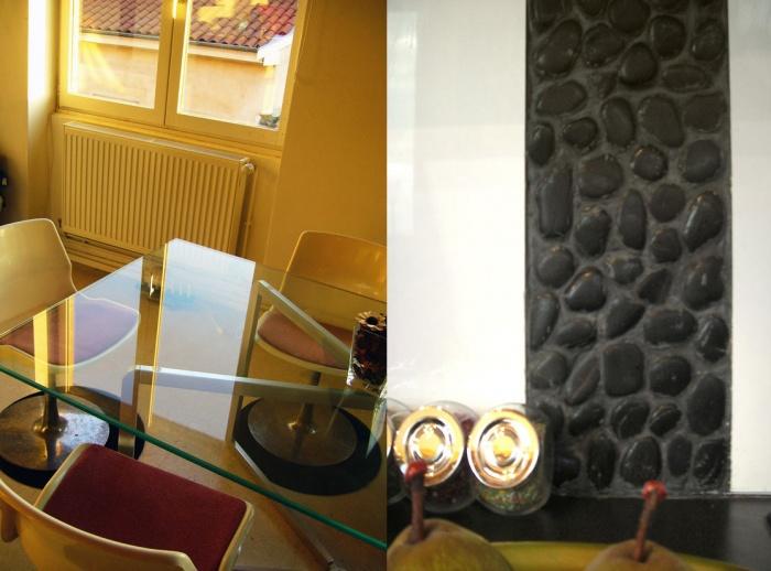 Rénovation appartement partie salon cuisine