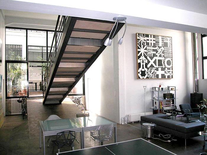 Aménagement d'un garage en loft (69)