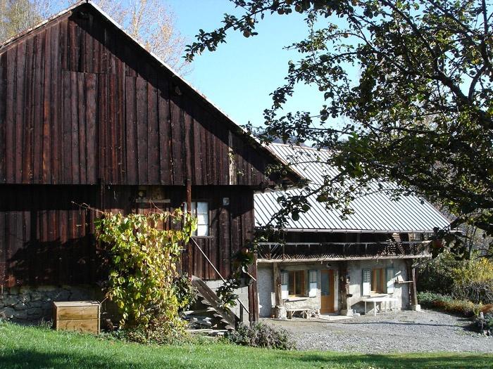 Rénovation d'une ancienne ferme à Jarrier (73)