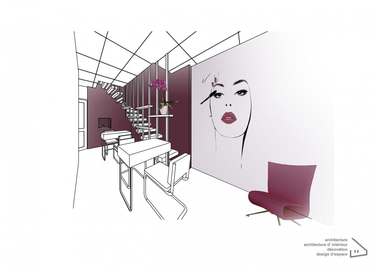 Un projet réalisé par M.E.Arch