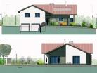 Construction d'une maison à basse consommation énergétique.