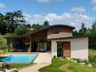 Maison contemporaine bois & béton