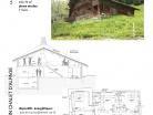 Rénovation d'un chalet d'alpage en site protégé.
