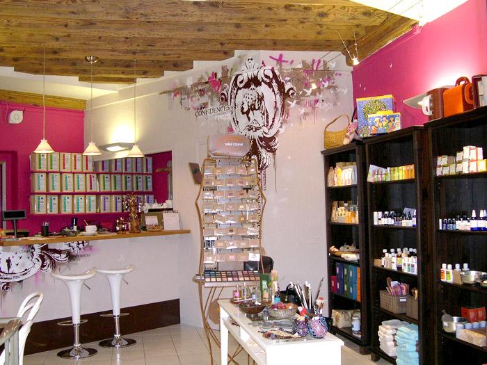 Connu Aménagement d'une boutique des cosmétiques - salon de thé à Lyon  BR76