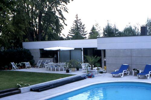 Maison en l avec piscine 68 mulhouse - Piscine contemporaine lyon mulhouse ...