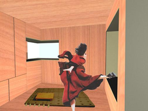 intérieur du module
