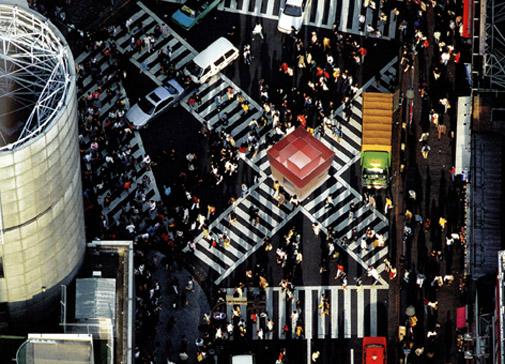 module habitable dans espace urbain