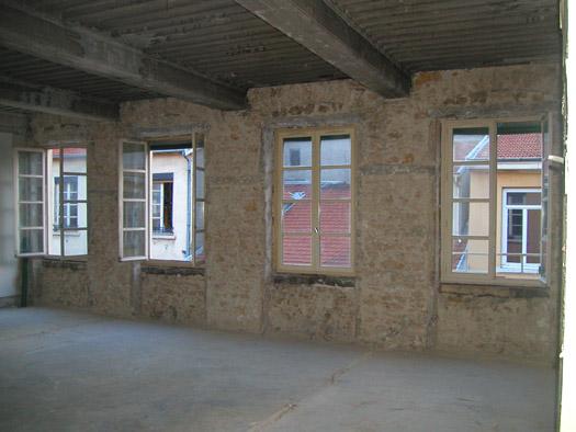façade en pierre